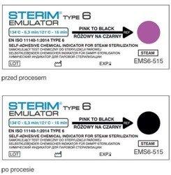 Test paskowy STERIM Emulator klasy 6, 134/5,3 121/15