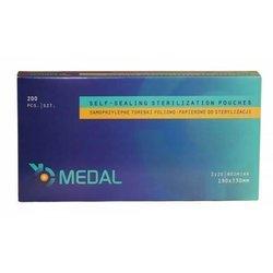 Torebki do sterylizacji MEDAL 190x330 mm