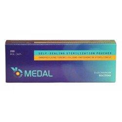 Torebki do sterylizacji MEDAL 90x230 mm